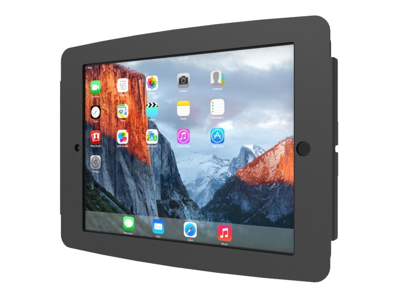 Compulocks iPad Enclosure, Space Wall Mount, fits iPad 2 3 4 , Black, 224SENB, 16208332, Locks & Security Hardware