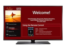 LG 64.5 LX770H Full HD LED-LCD Hospitality Smart TV, Black, 65LX770H, 31843473, Televisions - Commercial