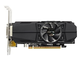 Gigabyte Tech GeForce GTX 1050 Ti PCIe 3.0 x16 Overclocked Low-Profile Graphics Card, 4GB GDDR5, GV-N105TOC-4GL, 33824680, Graphics/Video Accelerators