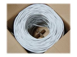 Bytecc Cat6 Bulk Cable, White, 1000ft, C6E-1000W, 14676263, Cables