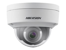 Hikvision 2MP IR Fixed Network Outdoor Dome Camera with 4mm Lens, DS-2CD2125FHWD-I 4MM, 36697786, Cameras - Security