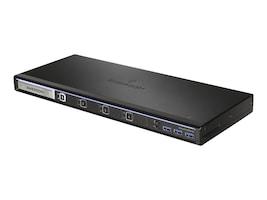 Avocent SVKM140 Desktop KM, 4-port, Front-panel USB3.0, Audio, SVKM140-001, 24348634, KVM Switches