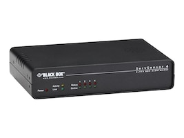 Black Box Alerkwerks ServSensor 4, No Sensors, EME105A, 32991806, Environmental Monitoring - Indoor