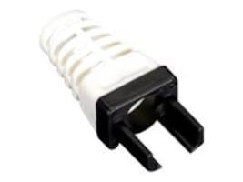 Black Box EZ-RJ45 Cat6 Strain-relief Boot, Black (25-pack), C6EZ-BOOT-BK, 16730913, Cable Accessories