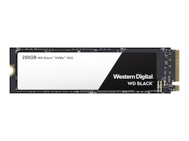 WD 250GB WD Black PCIe Gen3 x4 NVMe M.2 2280-S3-M Internal Solid State Drive, WDS250G2X0C, 35497791, Solid State Drives - Internal