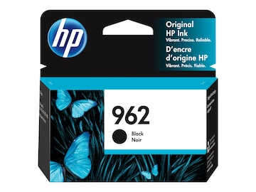 HP 962 (3HZ99AN) Black Original Ink Cartridge, 3HZ99AN#140, 36804684, Ink Cartridges & Ink Refill Kits - OEM