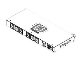 Raritan PDU 208VAC 30A 3-ph (6) Outlets NEMA ORG, PX2-5116R-V2K5, 30910005, Power Distribution Units