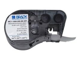 Brady Corp. MC1-1000-595-BK-WT Main Image from Front