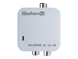 Gefen Analog to Digital Audio Adapter, GTV-AAUD-2-DIGAUD, 8887321, Switch Boxes - AV