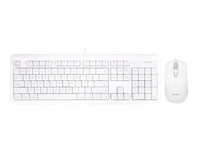 Macally USB MAC KEYBOARD MOUSE WITH 2  ACCSUSB PORTS, XKEYHUBCOMBO, 37492096, Keyboards & Keypads