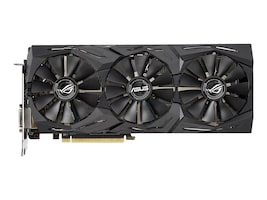 Asus ROG-STRIX-RX590-8G-GAMING Main Image from Front