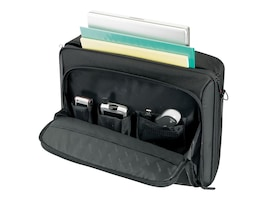 Targus 16 Classic Clamshell Case, Black Red, CN31US, 9829190, Carrying Cases - Notebook