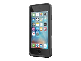 Lifeproof LifeProof fre Rugged Waterproof Case for Apple iPhone 6 6s, Pro Pack, Black, 77-53640, 33725083, Carrying Cases - Phones/PDAs