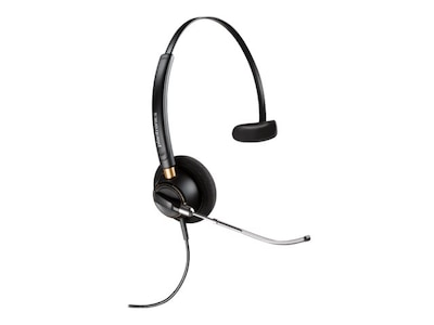Plantronics HW510V Encore Pro Voice Tube Noise Cancelling Headset w  Mic, 89435-01, 17997450, Headsets (w/ microphone)