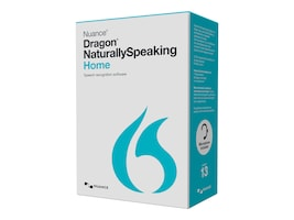 Nuance Dragon NaturallySpeaking 13.0 Home - US Retail, K409A-G00-13.0, 17701225, Software - Voice Recognition
