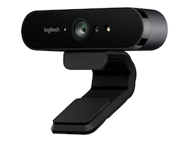 Logitech BRIO 4K Ultra HD Pro Webcam w  RightLight 3 w  HDR, 960-001105, 33632215, WebCams & Accessories