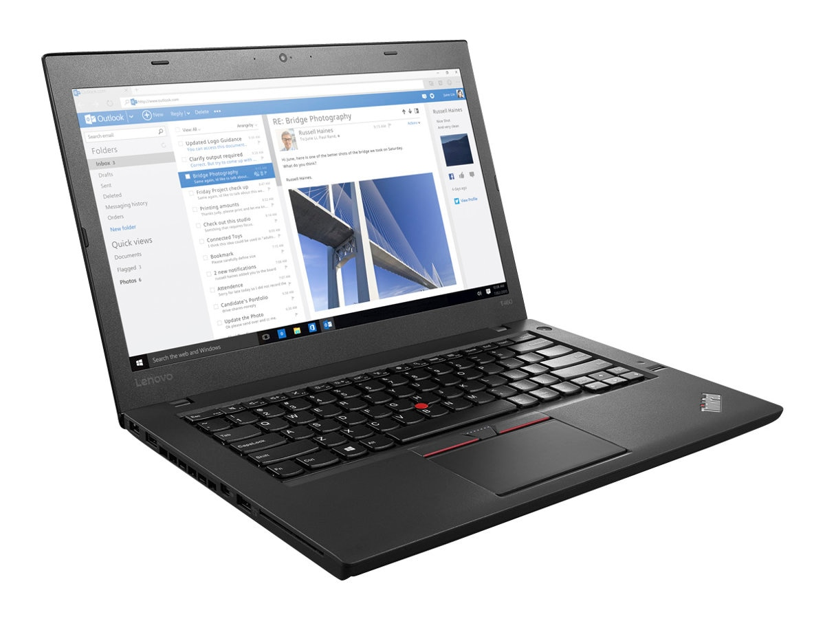Lenovo TopSeller ThinkPad T460 2.3GHz Core i5 14in display, 20FN0059US, 32917121, Notebooks