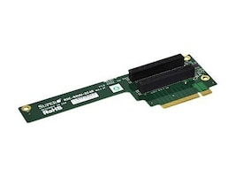 Supermicro UIO Riser Card, (2) PCI-EX4 Slots, Gen 2 Support, Right Side, RSC-R2UU-2E4R, 10732643, Motherboard Expansion