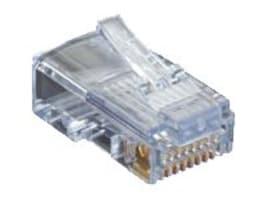 Black Box SHIELDED CAT5E EZ-RJ45 MODULAR PLUGS, 100-PACK, C5EEZSP-100PAK, 33006775, Cable Accessories