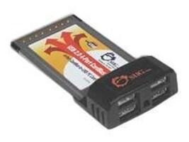 Siig USB 2.0 4-Port CardBus, JU-PCM422-S2, 7151418, Controller Cards & I/O Boards