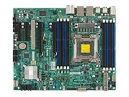Supermicro Motherboard, E5-2600 1600 2SATA3, 4SATA, 4SATA2, MBD-X9SRA-O, 13763584, Motherboards