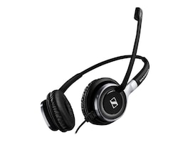 Sennheiser 2-Sided Wired 3.5mm Jack USB-C UC Optimized Skype Certified Headset, 508368, 36793954, Headsets (w/ microphone)