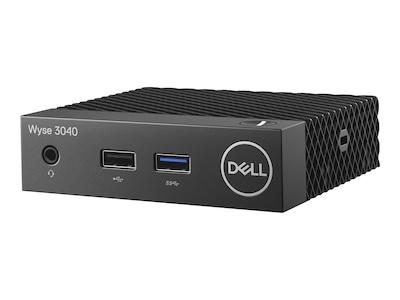 Wyse 3040 Thin Client Atom x5-Z8350 1.44GHz 2GB 8GB Flash GbE ThinOS 8.3, R96K1, 36233949, Thin Client Hardware
