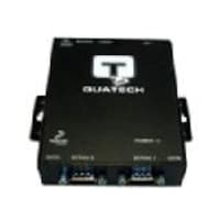 Quatech 2 port RS-232 Port-Powered Serial Device Server with surge suppression and +5V at Pin 9, DSE-100D-5V, 7624262, Remote Access Hardware