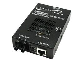 Transition 100Base-TX to 100Base-FX SC MM 2KM SA Media Converter, E-100BTX-FX-05SC-NA, 16049141, Network Transceivers