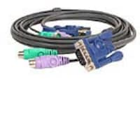 IOGEAR Micro-Lite KVM All-In-One PS 2 Cable, 6ft (G2L5002P), G2L5002P, 303534, Cables