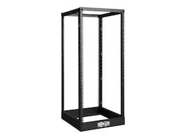 Tripp Lite SmartRack Open Frame Rack, 25U, 4-post, Black, SR4POST25, 12540864, Racks & Cabinets