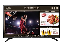 LG 49 LW540S Full HD LED-LCD TV, Black, 49LW540S, 31985631, Televisions - Commercial