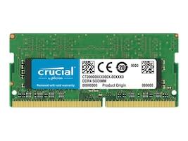 Crucial 16GB PC4-21300 260-pin DDR4 SDRAM SODIMM, CT16G4SFD8266, 35057365, Memory