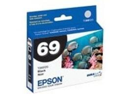 Epson Black Ink Cartridge for Stylus CX5000, CX6000, CX7000F, CX7400, CX8400, CX9400Fax & CX9475Fax, T069120, 7067435, Ink Cartridges & Ink Refill Kits