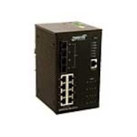 Transition 8-Port GbE PoE+ Industrial Managed Switch, SISPM1040-384-LRT-B, 30839350, Network Switches