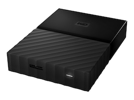 WD 4TB My Passport Ultra, Black, WDBYFT0040BBK-WESN, 32484855, Hard Drives - External