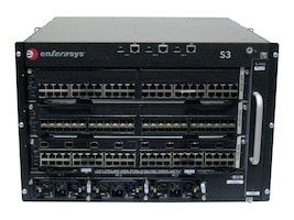 Enterasys S-Series S3 Chassis Fan Tray 4-Bay Power Over Ethernet Power Supply, S3-CHASSIS-POEA, 15109666, Network Device Modules & Accessories
