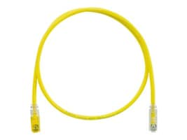 Panduit CAT6 UTP TX6 PLUS Keyed Plug to Non-Keyed Plug Patch Cable, Yellow, 5m, UTPKSP5MYL, 35410907, Cables