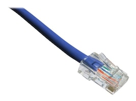 Axiom Cat6 550MHz UTP Bootless Patch Cable, Purple, 6, C6NB-P6IN-AX, 37452457, Cables