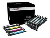 Lexmark Black & Color 700Z5 Imaging Unit for CX510, CX410, CX310, CS510, CS410 & CS310 Series, 70C0Z50, 14909451, Toner and Imaging Components