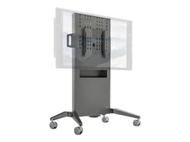 Salamander Large Fixed-Height Mobile Display Stand for Displays up to 65 or 175 lbs, FPS1/FH/GG, 35387612, Stands & Mounts - AV