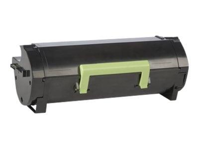 Lexmark Black 601X Extra High Yield Return Program Toner Cartridge, 60F1X00, 14909055, Toner and Imaging Components - OEM