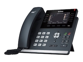 Yealink SIP T46S GbE IP Phone w Skype for Business, SIP-T46S-SFB, 34845722, VoIP Phones