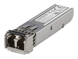 Linksys 1000BASE-SX SFP Transceiver for Business, LACGSX, 31261983, Network Transceivers