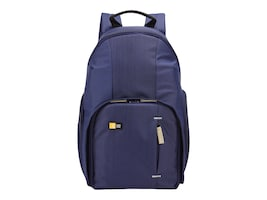 Case Logic DSLR Compact Backpack, TBC411INDIGO, 33671505, Carrying Cases - Camera/Camcorder