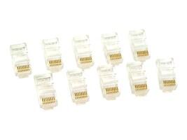 Belkin Cat5 RJ45 Modular Plug - 10 Pack, round (R6G088-R-10), R6G088-R-10, 110195, Premise Wiring Equipment