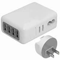 4Xem 4-Port Universal USB Wall Charger for Smartphone iPhone iPod, 4XUSBCHARGER4, 31204882, AC Power Adapters (external)
