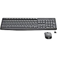 Logitech MK235 Wireless Keyboard & Mouse, Black, 920-007897, 36666584, Keyboard/Mouse Combinations
