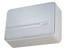 Valcom One-Way Simline Amplified Wall Speaker - White, V-1042-W, 16450567, Speakers - Audio