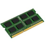 Kingston 4GB PC3-12800 204-pin DDR3 SDRAM SODIMM for Select Models, KCP3L16SS8/4, 31428798, Memory